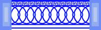 特色欧式栏杆圆形图案装饰