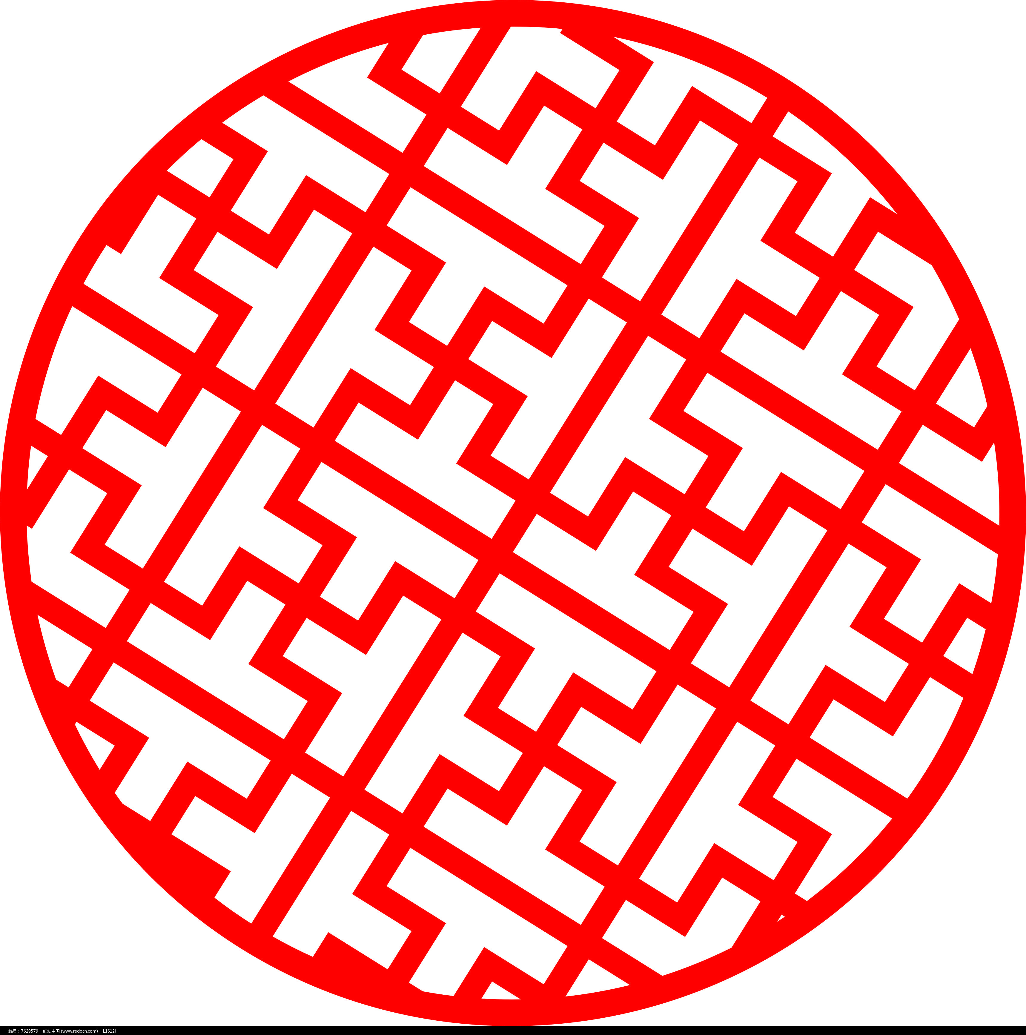 圆剪纸作品步骤图片