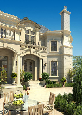 欧式风格别墅住宅效果