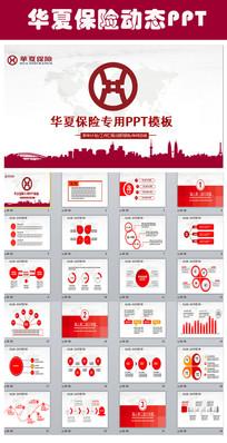 华夏人寿保险市场工作总结PPT