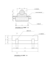 简约现代圆球施工图 CAD