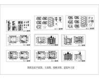 基督教堂建筑CAD图纸