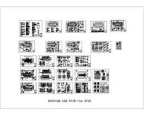 基督教堂建筑和结构CAD图纸
