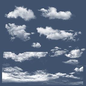 天空云psd素材