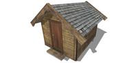 小木屋厕所
