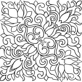 中国传统纹样图案