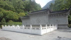 中式福字照壁
