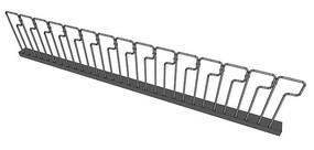 P字型金属护栏