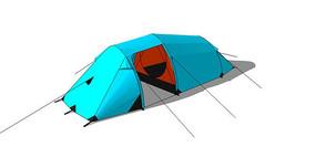 登山露营防水帐篷 skp