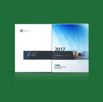 互联网科技蓝色线条封面设计