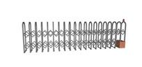 弧形铁艺电动伸缩门