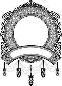 欧式镂空图案装饰