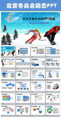 2022北京冬奥会动态PPT模板