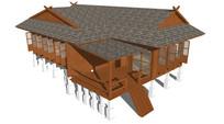 阁楼小木屋