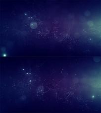 梦幻星空背景视频
