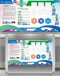 企业高端文化墙设计模板