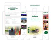 手机配件包装盒包装设计 CDR