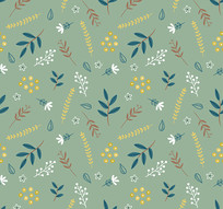 唯美床单花卉底纹图案