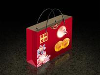 月饼礼盒包装袋设计