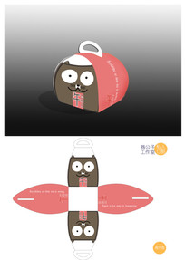 蛋糕盒之午后甜点懒猫系列