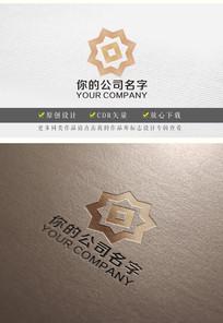 菱形花美容logo