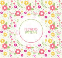 天然植物卫生巾印刷图案