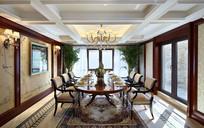现代酒店宴会餐厅设计