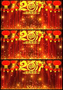 2017金鸡贺岁相声小品幕布背景