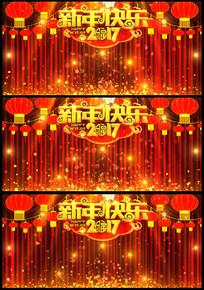 2017新年相声小品幕布背景