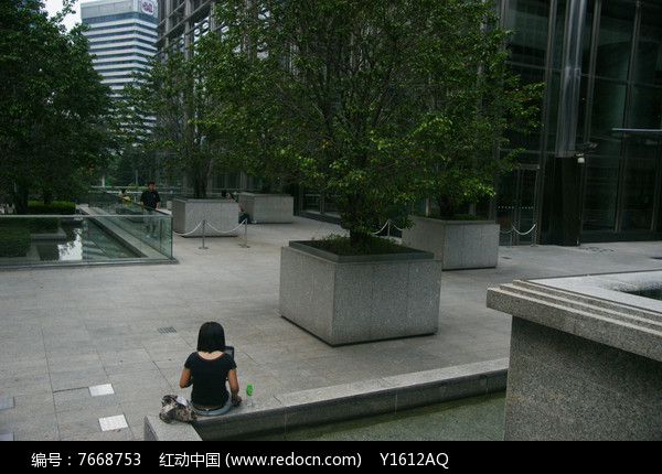 方形花岗岩种植池jpg素材下载_花坛树池设计图片