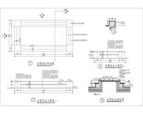 矩形坐凳花坛 CAD