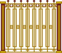 栏杆装饰图案CAD