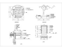 裂纹树池施工图 CAD