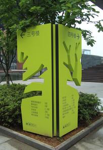 宁波水街商业广场指示牌 JPG