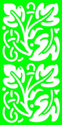 欧式风格树叶装饰