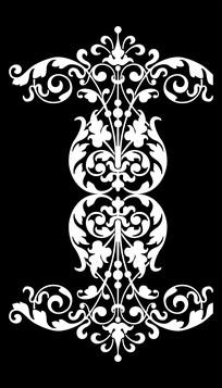 欧式风格藤蔓特色图案装饰元素