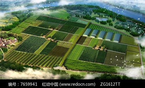 生态农场景观图片