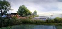 湿地河道景观