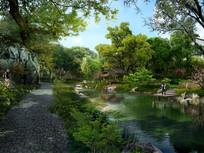 苏州园林公园景观