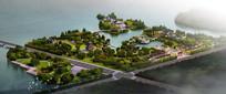 中式风景名胜公园景观