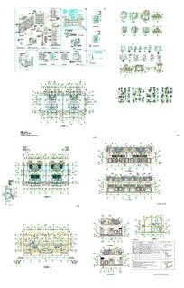 别墅群建筑CAD图