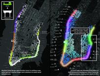 滨江公园景观分析图