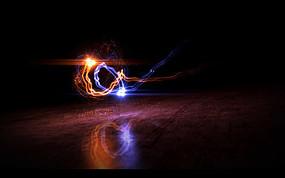 光线汇聚logo视频片头ae模版