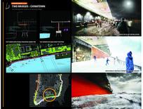 国外滨江广场景观分析图