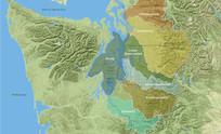 简单的地图分析图