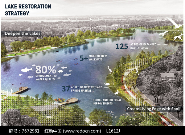 生态湿地景观分析