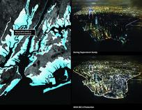 特色的夜景排版效果 JPG
