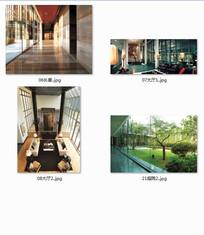 新中式景观意向图