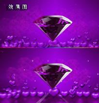 紫色婚庆视频素材AVI背景视频