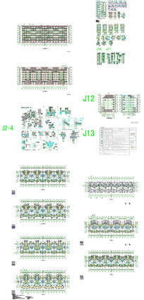综合楼建筑CAD图纸 CAD